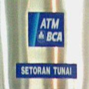 Mesin Setor Tunai BCA